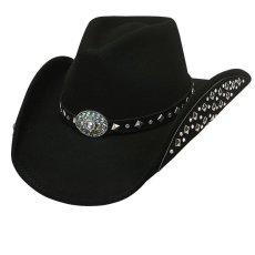画像1: ブルハイド カウボーイハット レッツゲットラウド(ブラック)M/Bullhide Cowboy Hat Let's Get Loud(Black) (1)