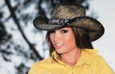 画像2: ブルハイド ウエスタン ストローハット(ラブマイセルフ)M/BULLHIDE Western Straw Hat Love Myself (2)