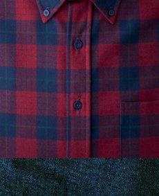 画像2: ペンドルトン ウール シャツ・ファイアーサイドシャツ(長袖・ロビンソン ドレス タータン)/Pendleton Fireside Shirt (Robinson Dress Tartan) (2)