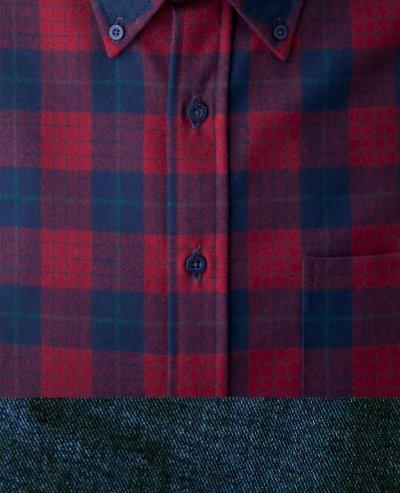 画像2: ペンドルトン ウール シャツ・ファイアーサイドシャツ(長袖・ロビンソン ドレス タータン)/Pendleton Fireside Shirt (Robinson Dress Tartan)