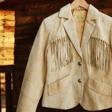 画像2: スカリー レディース フリンジ レザー ジャケット(オールド ラスト)/Scully Fringe Leather Jacket(Women) (2)