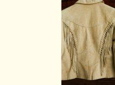 画像3: スカリー レディース フリンジ レザー ジャケット(オールド ラスト)/Scully Fringe Leather Jacket(Women) (3)