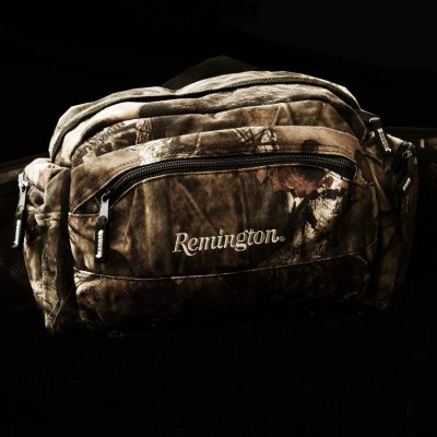 画像2: レミントン 12ポケット モッシーオーク カモ ウエスト バッグ/Remington  Hip Pack