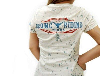 画像2: レディース ウエスタン 半袖Tシャツ(ワイルドウエストロデオ)/Wild West Short Sleeve T-shirt(Women's)