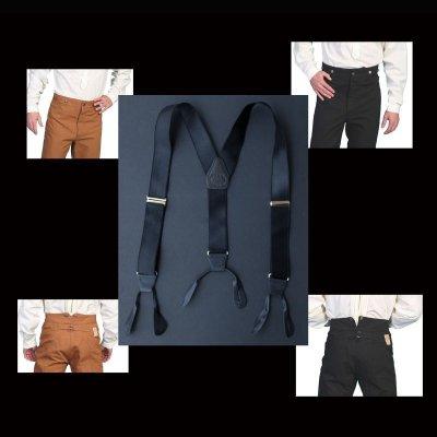画像2: ワーメーカー サスペンダー(カーキ)/Wah Maker Suspenders(Khaki)