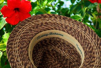 画像3: トミーバハマ  リゾートハット(ブラウン)ハットサイズ調整テープつき/Tommy Bahama Straw Hat(Brown)