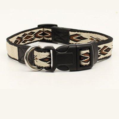 画像1: 犬の首輪・ドッグカラー(サウスウエスト/タン・ブラウン)/Dog Collar
