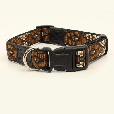 画像1: 犬の首輪・ドッグカラー(サウスウエスト/ブラウン・ブラック)/Dog Collar