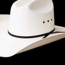 画像2: ウエスタン ストロー ハット(シャンタン・ナチュラル)55cm・56cm・57cm・58cm/Shantung Straw Cowboy Hat(Natural) (2)