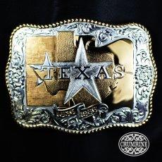 画像1: クラムライン ベルト バックル テキサス/Crumrine Belt Buckle Texas (1)