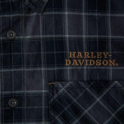 画像2: ハーレーダビッドソン 半袖シャツ(ブラック)/Harley Davidson Shortsleeve Shirt(Black)
