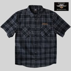 画像4: ハーレーダビッドソン 半袖シャツ(ブラック)/Harley Davidson Shortsleeve Shirt(Black) (4)
