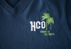 画像2: ホリスター 刺繍入り 半袖 Tシャツ パームツリー・ネイビーM/Hollister Short Sleeve T-Shirt HCO LEGEND OF THE BEACH (2)
