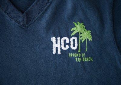 画像2: ホリスター 刺繍入り 半袖 Tシャツ パームツリー・ネイビーM/Hollister Short Sleeve T-Shirt HCO LEGEND OF THE BEACH