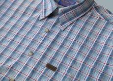 画像3: ペンドルトン 半袖 シャツ(ブループラッド)/Pendleton Plaid Shortsleeve Shirt(Blue) (3)