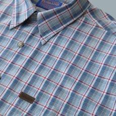 画像4: ペンドルトン 半袖 シャツ(ブループラッド)/Pendleton Plaid Shortsleeve Shirt(Blue) (4)