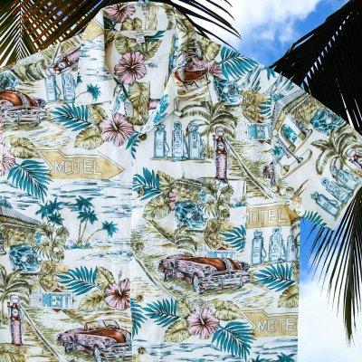 画像2: バケーション ハワイアン シャツ(ナチュラル)M/Short Sleeve Hawaiian Shirt(Natural)