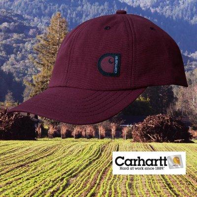 画像2: カーハート キャップ(ブルー)/Carhartt Cap(C Label/Blue)