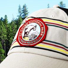 画像2: ペンドルトン ナショナルパーク 国立公園 キャップ(グレイシャー)/Pendleton National Park Cap(Cream/Black Glacier) (2)