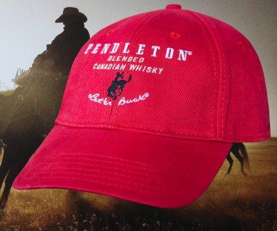 画像1: ペンドルトン ロデオ キャップ(レッド)/Pendleton Round Up Whisky Cap(Red)