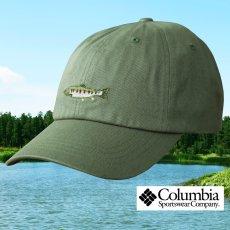 画像1: コロンビアスポーツウェア 刺繍 キャップ(レインボートラウト/グラス)/Columbia Sportswear Cap(Grass/Rainbow Trout) (1)