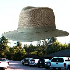 画像1: メッシュクラウン サファリ ハット(オリーブ)/Mesh Crown Safari Hat(Olive) (1)
