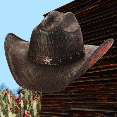 画像2: PBR プロフェッショナル ブルライダース BE COWBOY ストロー カウボーイ ハット(チョコレートブラウン)/PBR Cowboy Hat(Chocolate)