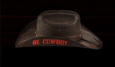 画像3: PBR プロフェッショナル ブルライダース BE COWBOY ストロー カウボーイ ハット(チョコレートブラウン)/PBR Cowboy Hat(Chocolate)