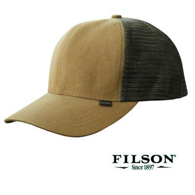 画像1: フィルソン ロガー メッシュ キャップ(ライトブラウン・グリーン)/Filson Logger Mesh Cap