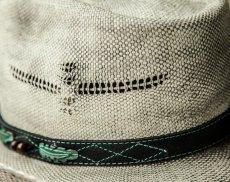 画像3: ブルハイド ウエスタン ストローハット(ランページ)/BULLHIDE Western Straw Hat Rampage (3)