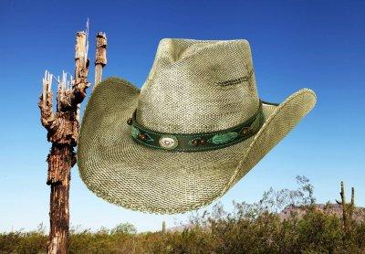 画像1: ブルハイド ウエスタン ストローハット(ランページ)/BULLHIDE Western Straw Hat Rampage