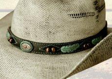 画像2: ブルハイド ウエスタン ストローハット(ランページ)/BULLHIDE Western Straw Hat Rampage (2)