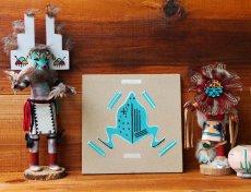 画像2: ナバホ インディアン ハンドメイド サンドペイント 砂絵/Americn Indian Navajo Sandpainting (2)