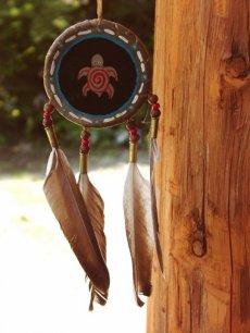 画像2: ハンドメイド ナバホ シールド/Hand Made Navajo Shield (2)