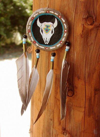 画像1: ハンドメイド ナバホ シールド/Hand Made Navajo Shield