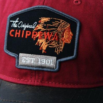 画像3: チペワ ブーツ メッシュ キャップ(ブラック・ダークブラウン)/Chippewa Boots Mesh Cap The Original CHIPPEWA EST.1901(Black)