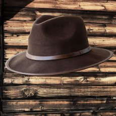 画像1: アウトバック ウール ハット(ブラウン)/Water-Repellent Wool Hat (1)