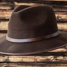 画像3: アウトバック ウール ハット(ブラウン)/Water-Repellent Wool Hat (3)