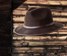 画像2: アウトバック ウール ハット(ブラウン)/Water-Repellent Wool Hat (2)