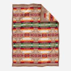 画像2: ペンドルトン チーフジョセフ ムチャチョ ブランケット(タン)/Pendleton Chief Joseph Muchacho Blanket(Tan) (2)