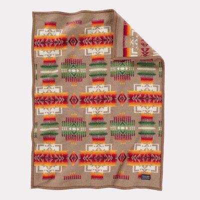 画像1: ペンドルトン チーフジョセフ ムチャチョ ブランケット(タン)/Pendleton Chief Joseph Muchacho Blanket(Tan)