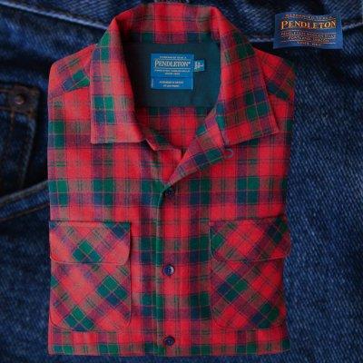 画像1: ペンドルトン ジャパンフィット(日本サイズ仕様) ボードシャツ ロバートソンタータン/Pendleton Board Shirt Robertson Tartan