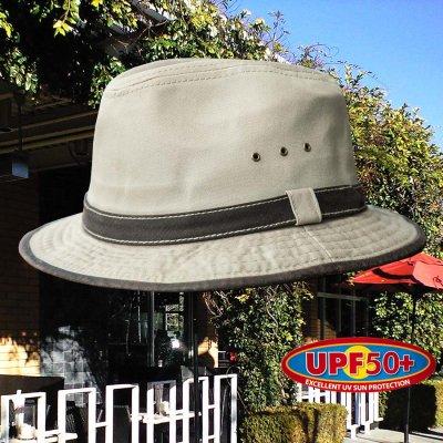 画像1: DPC ドーフマン パシフィック UPF50+ コットン ハット(カーキ)/Dorfman Pacific Cotton Hat(Khaki)