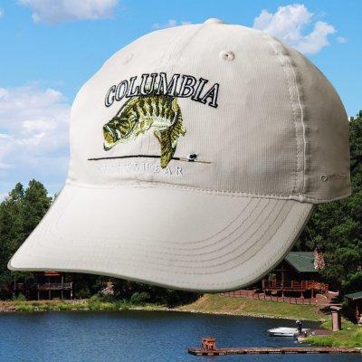 画像1: コロンビア サンプロテクト フィッシュ キャップ(ストーン)/Columbia Baseball Cap