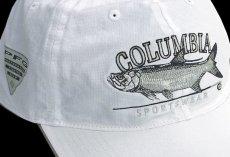 画像2: コロンビア サンプロテクト フィッシュ キャップ(ホワイト)/Columbia Baseball Cap (2)