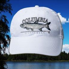 画像1: コロンビア サンプロテクト フィッシュ キャップ(ホワイト)/Columbia Baseball Cap (1)
