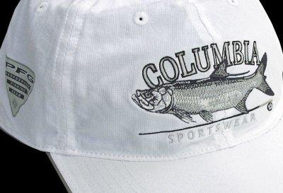画像2: コロンビア サンプロテクト フィッシュ キャップ(ホワイト)/Columbia Baseball Cap