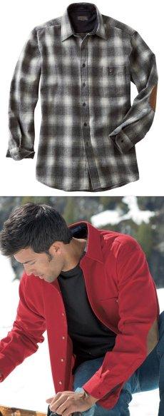 画像6: ペンドルトン ウール シャツ・エルボーパッチ トレイルシャツ ブロンズ・チャコールオンブレS/Pendleton Trail Shirt (Bronze Charcoal Ombre) (6)
