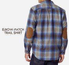 画像7: ペンドルトン ウール シャツ・エルボーパッチ トレイルシャツ ブロンズ・チャコールオンブレS/Pendleton Trail Shirt (Bronze Charcoal Ombre) (7)