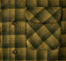 画像2: ペンドルトン ウールシャツ ボードシャツ ブロンズ・チャコールオンブレXS・S/Pendleton Board Shirt(Bronze Charcoal Ombre) (2)